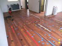 Vloer (hergebruikte gymzaal-vloer), 2012